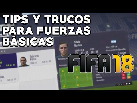 TRUCOS Y CONSEJOS Para Las Fuerzas Básicas En FIFA 18   Modo Carrera   Jugadores Con Mejor Potencial