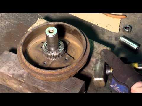 Replacing tapered roller Barings -- Volkswagen Wheel bearings A3 platform