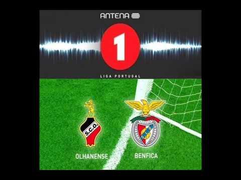 Olhanense 0 x 2 Benfica - Relato: Alexandre Afonso ( Antena 1 ) Camp. Português - 07/04/2013