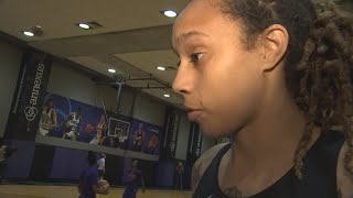 RAW VIDEO: Brittney Griner sounds off on suspension, WNBA