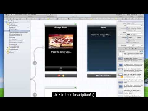 Xcode4 iPhone Development Tutorial 9 - StoryBoard Tab Views - EASY