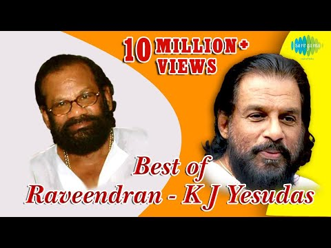 Top 10 Hits of Raveendran  KJ Yesudas  Malayalam Movie Audio Jukebox