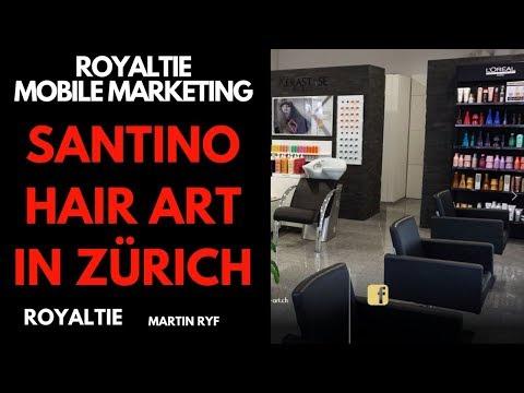 Royaltie Mobile Marketing - Erfahrungsbericht Santino Hair Art in Zürich