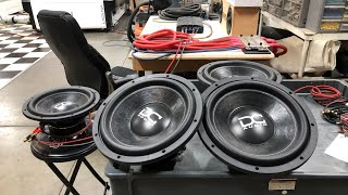 "2 DC Audio 12"" Subwoofers - Livestream giveaway at SMD HQ! Join us!"