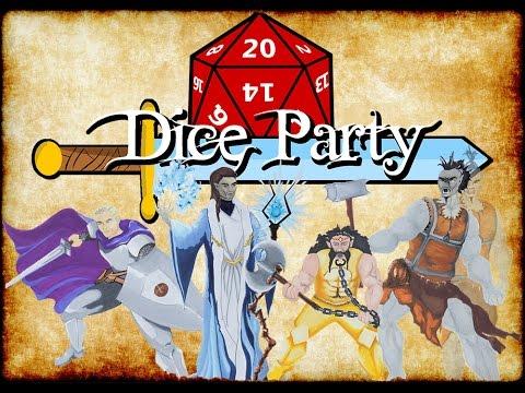 Dice Party - Episode 1 - Treasure Hunters Assemble