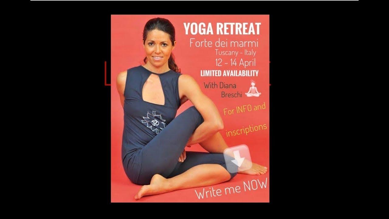 Forte dei Marmi - Diana Breschi yoga  Retreat 2019