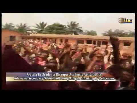 Protest by students disrupts academic activities in Aduwawa Sec. School