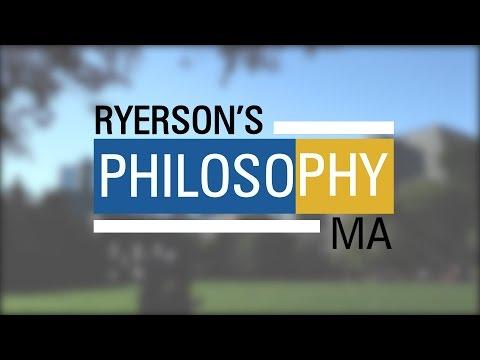 Ryerson University - Philosophy Master of Arts (MA)