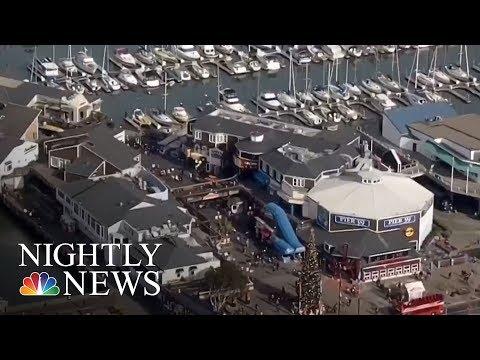 FBI Charges Former Marine For San Francisco Terror Plot | NBC Nightly News