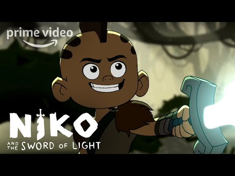 Niko and the Sword of Light - Frog Faceoff (Highlight) | Prime Video Kids