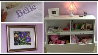 Belle's Nursery! Part 2: Decor & Rearranging