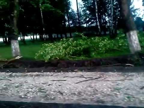 После урагана г. Ковров Владимирская обл. 30.05.2015