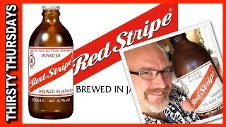 Jamaican ♥ Red Stripe Beer Review