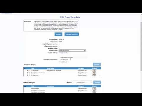 OpenContent Forms - Form Admin