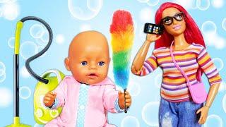 Почему Беби Бон чихает? - Уборка дома - Смешное видео - Мультики для детей