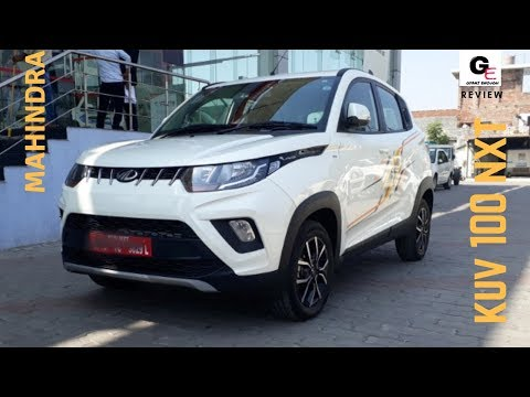 2018 Mahindra KUV 100 NXT K8 | white | detailed review | features | specs !!!!
