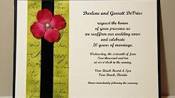 Wedding / Vow Renewal Invitation