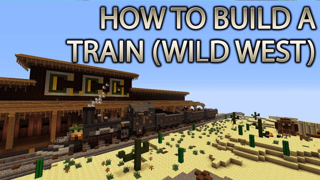 minecraft xbox 360 how to build a train wild western crz build team choochoosgaming youtube. Black Bedroom Furniture Sets. Home Design Ideas