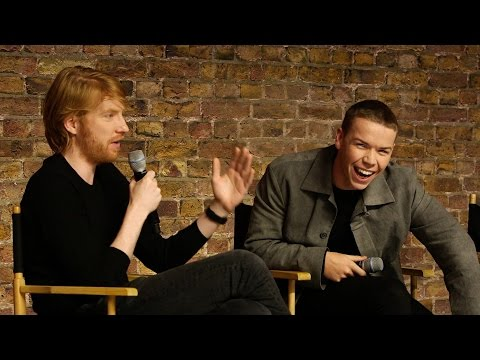Domhnall Gleeson and Will Poulter: The Revenant Cast Interview
