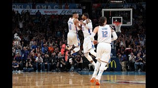 The Moment Russell Westbrook Passed Wilt Chamberlain For Longest Triple-Double Streak In NBA History