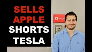 Billionaire Sells Apple & Shorts Tesla Why?