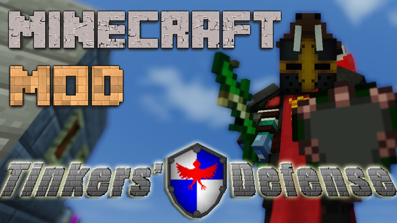 Minecraft Mods Ita Tinkers Defense 1 7 10 Youtube