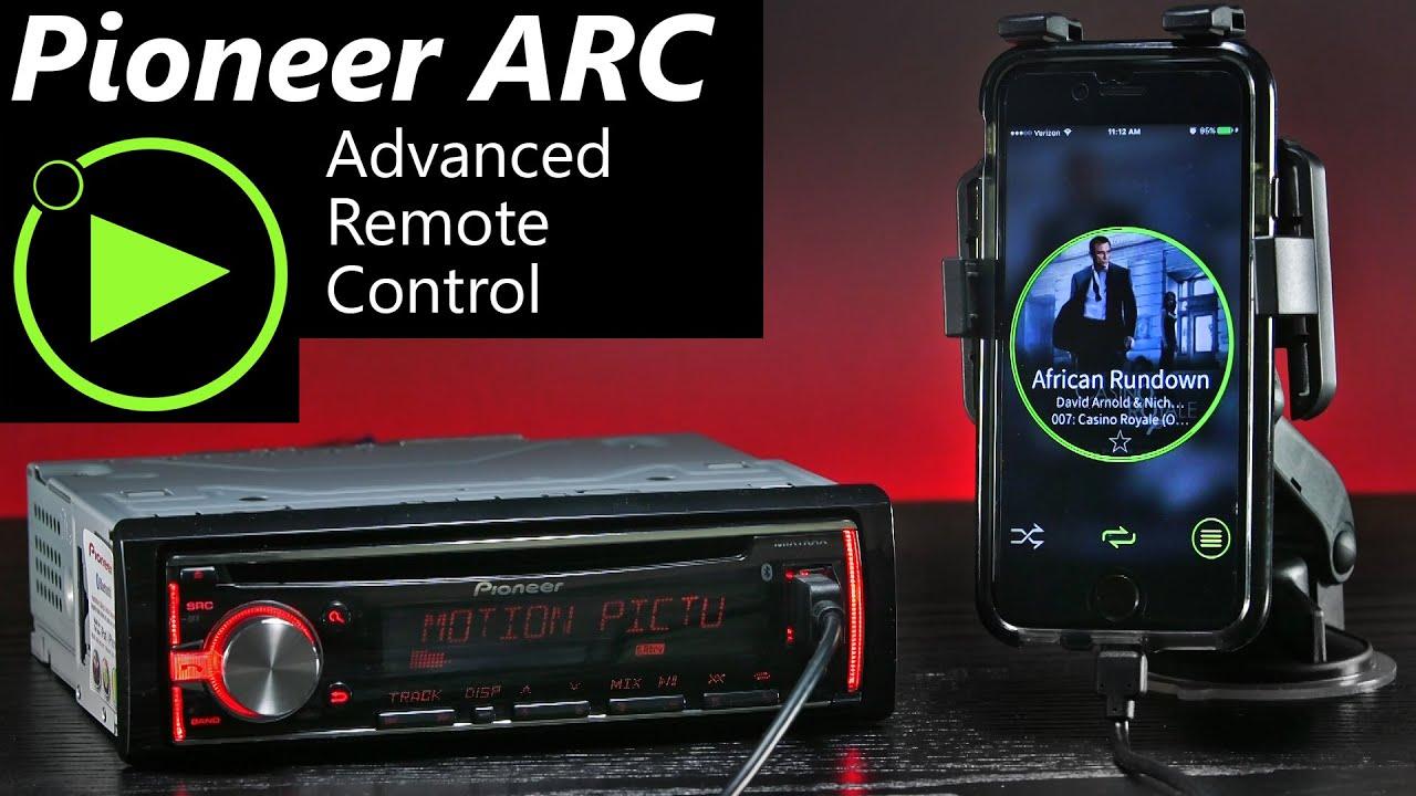 pioneer arc app advanced remote control quick. Black Bedroom Furniture Sets. Home Design Ideas