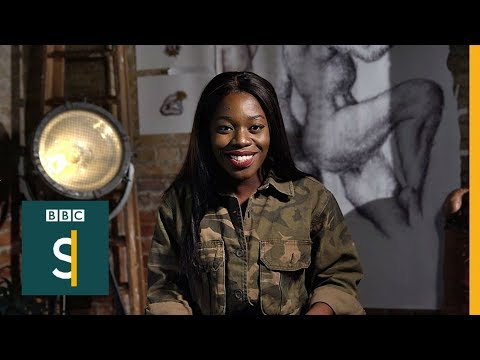 'I'm a Muslim artist inspired by the female body' BBC Stories