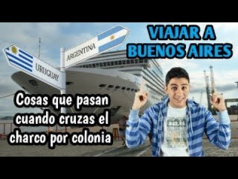 "HUMOR RIOPLATENSE: VIAJAR A BUENOS AIRES DE MONTEVIDEO ""VÍA COLONIA"""