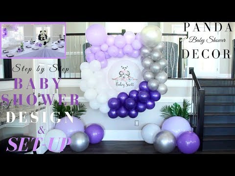 Baby Shower Decor Ideas DIY | Step By Step Baby Shower Design & Setup