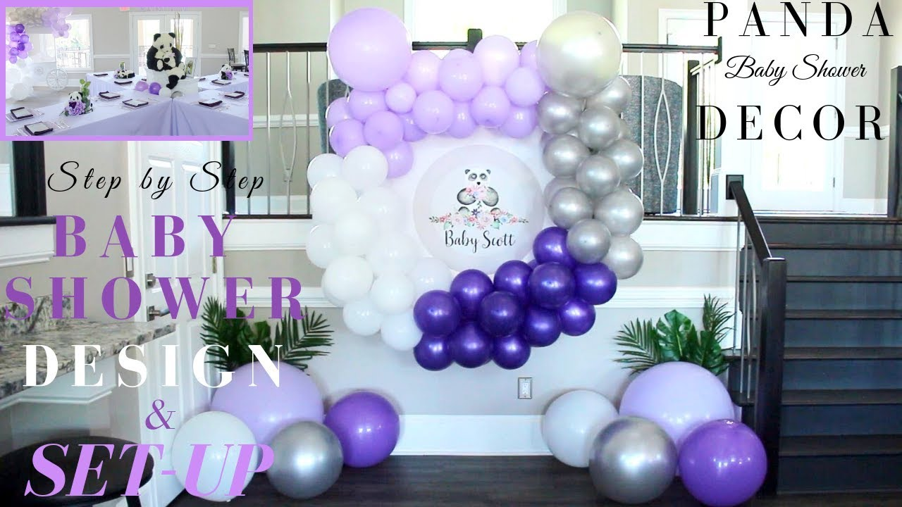 Baby Shower Decor Ideas Diy Step By Step Baby Shower Design