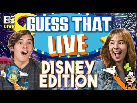Guess That Live #2 | Disney Edition