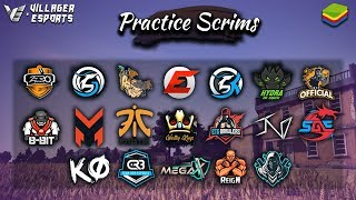 [Hindi] Practice Scrims • PUBG Mobile • Villager Esports | Bluestacks