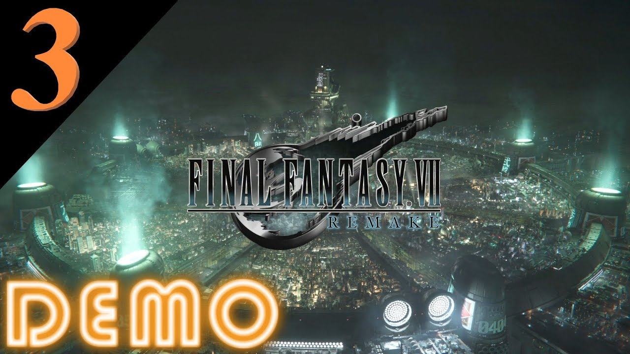 FINAL FANTASY VII REMAKE DEMO Gameplay 3/3 Deutsch HD
