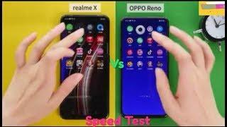 Realme X Проти Опонентів Ріно - Тест Швидкості