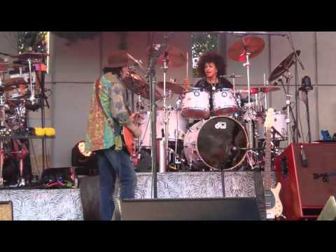 Carlos Santana with Cindy Blackman