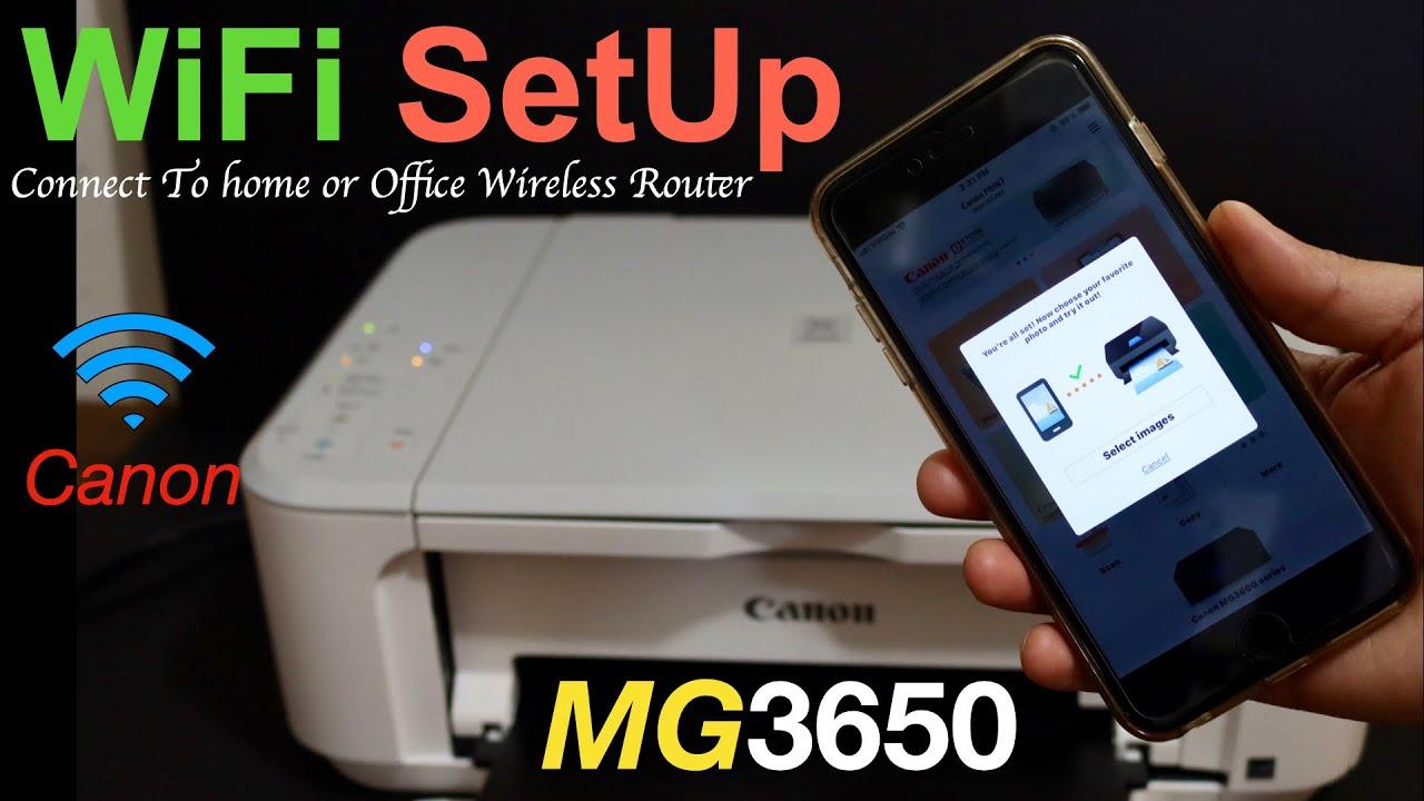Canon Pixma MG20 WiFi SetUp Using iPhone & Review.