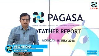 Public Weather Forecast Issued at 4:00 AM July 16, 2018