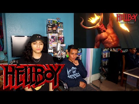"""Hellboy (2019 Movie) New Trailer """"Red Band"""" – David Harbour, Milla Jovovich, Ian McShane-REACTION"""