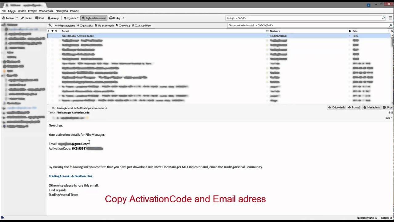 FiboManager Fibonacci indicator - download and installation