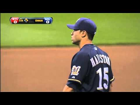 2011/08/30 Brewers' errors prove costly