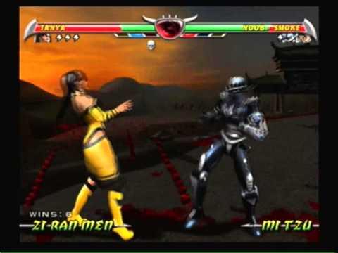 Mortal Kombat Deception-Tanya Arcade Ladder