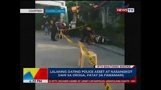 Lalaking dating police asset at nasangkot daw sa droga patay sa pamamaril