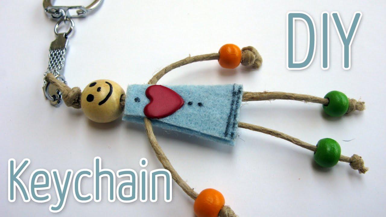 How To Make A Key Chain Ana Diy Crafts Youtube