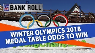 Winter Olympics 2018 | Medal Table Odds to Win