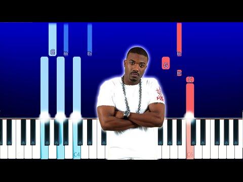 Ray J - One Wish (Piano Tutorial)