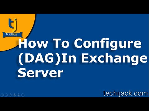 How To Create Database Availability Group Exchange 2016