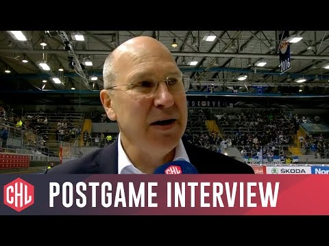 Red Bull Munich vs SC Bern postgame interviews