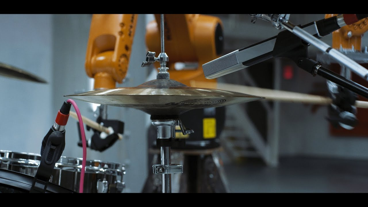 Automatica - Robot Drummer Tests