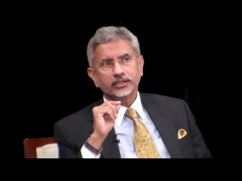 India Minister of External Affairs Subrahmanyam Jaishankar